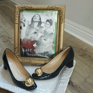 Kate Spade block heels sz 7 exc cond. Beautiful!